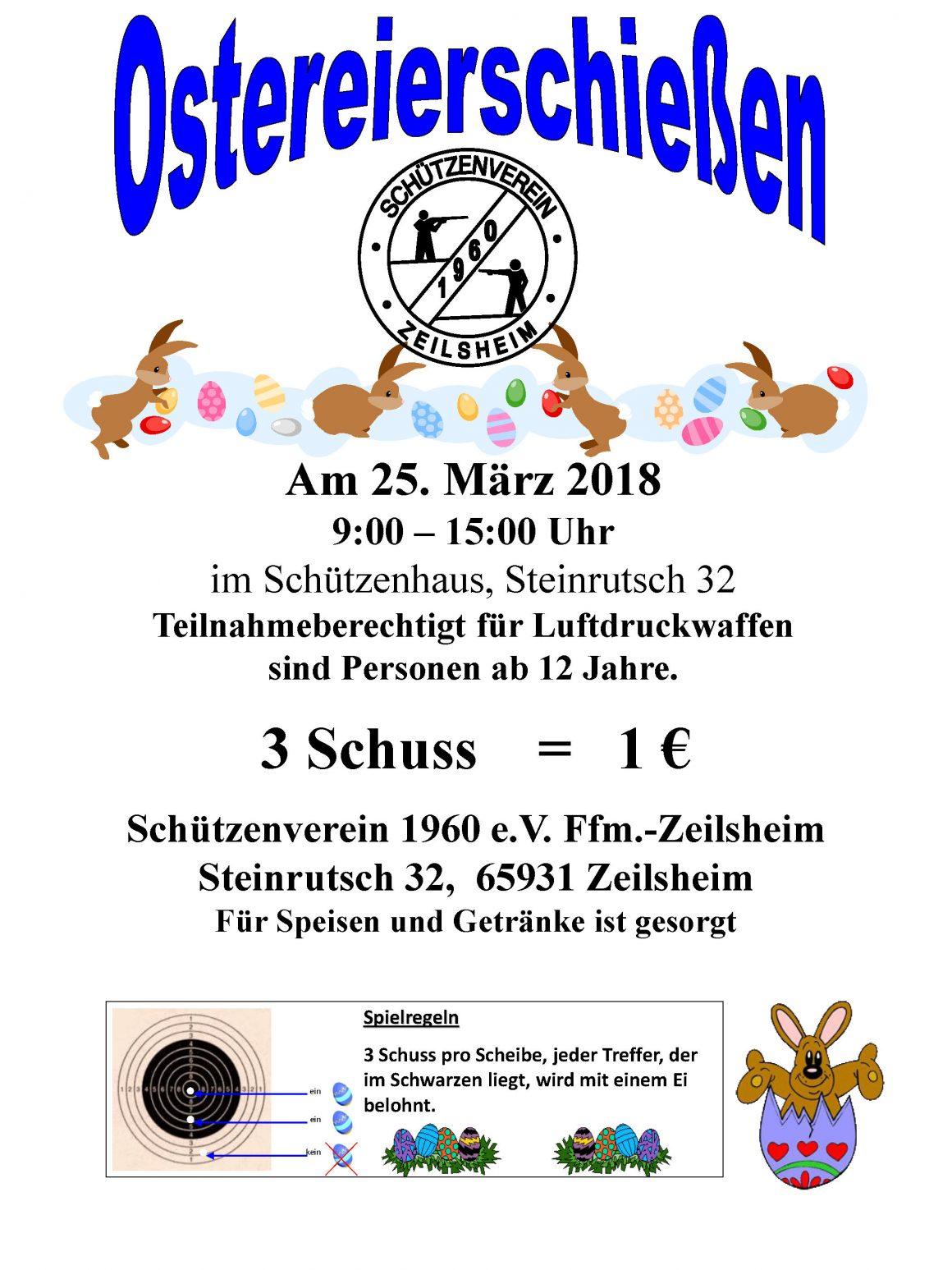 Zeilsheimer Ostereierschießen 2018