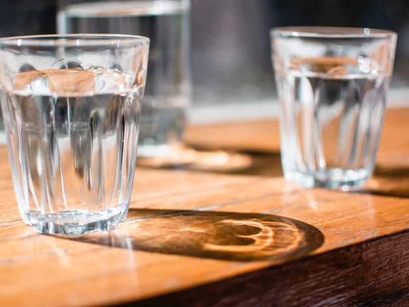 Wass trinken ist gut für die Gesundheit